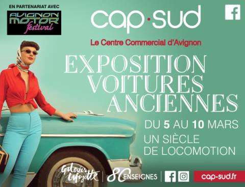 Exposition de voitures anciennes Avignon